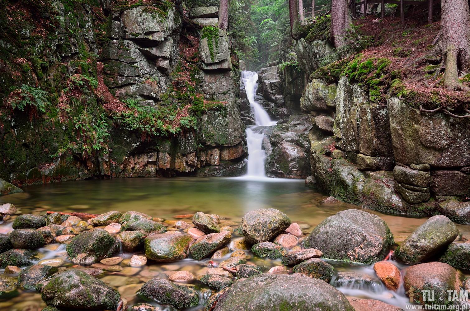 Najpiękniejsze wodospady w Polsce - Wodospad Podgórnej