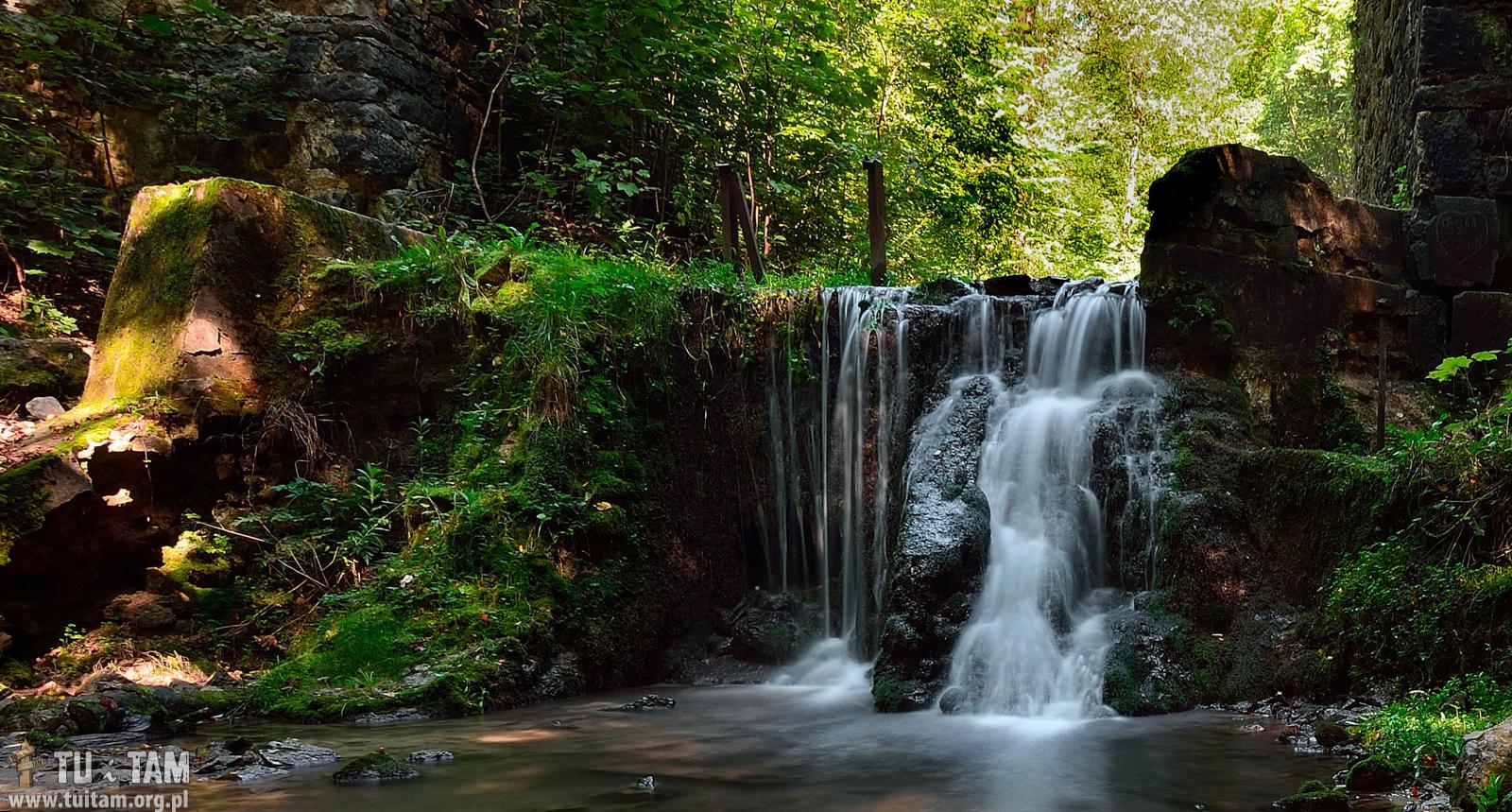 Najpiękniejsze wodospady w Polsce - Wodospad w Czernej