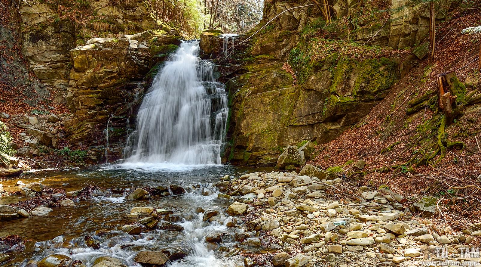 Najpiękniejsze wodospady w Polsce - WODOSPAD WIELKI w Obidzy