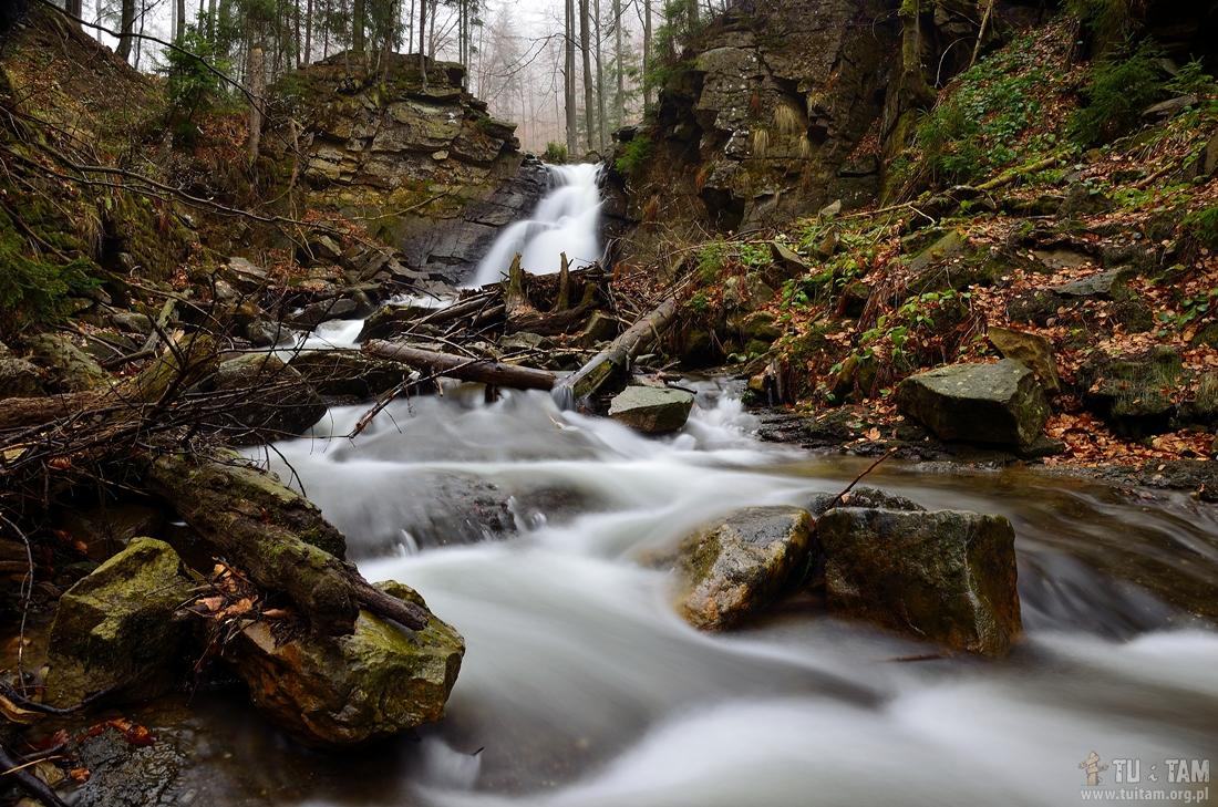 Najpiękniejsze wodospady w Polsce - Kaskady Rodła
