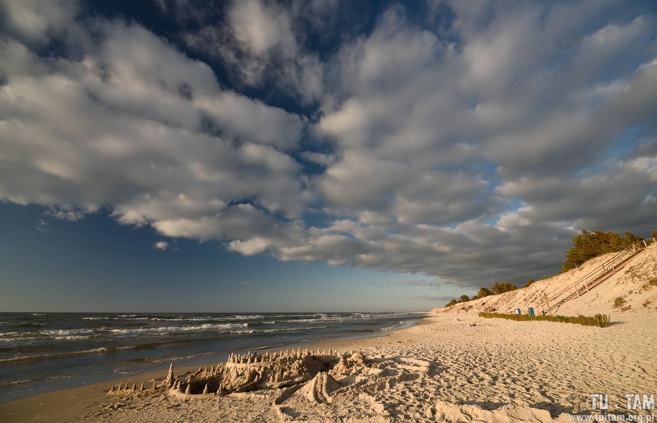 Białogóra, plaża