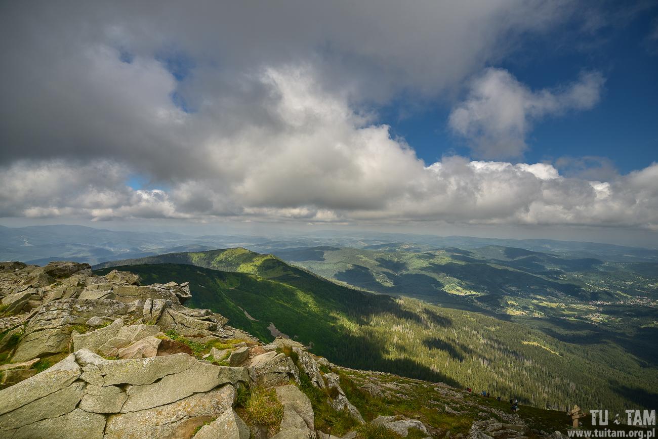Babia Góra, szlak na szczyt