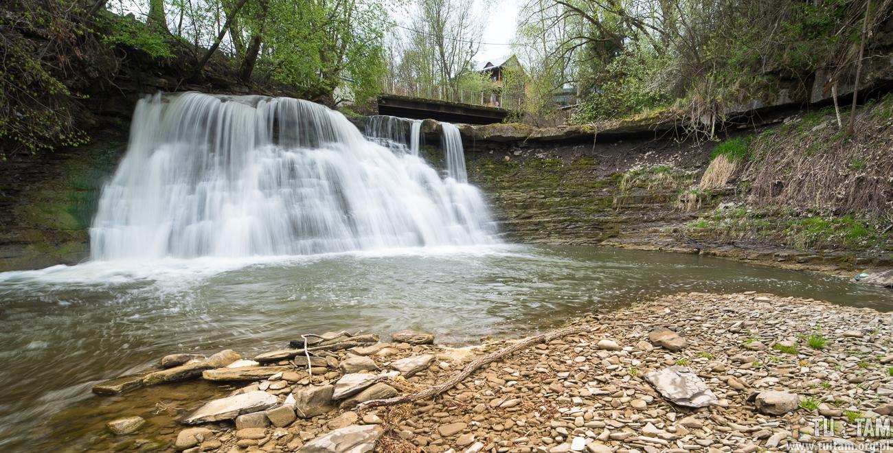 Wodospad pod Młynarzką