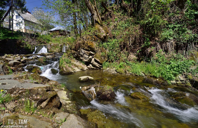 Wodospad na potoku Łomniczanka