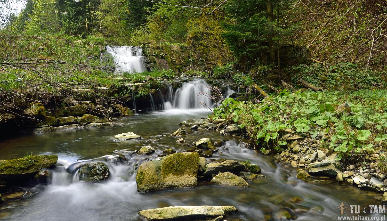 Wodospad Wierchomlanka