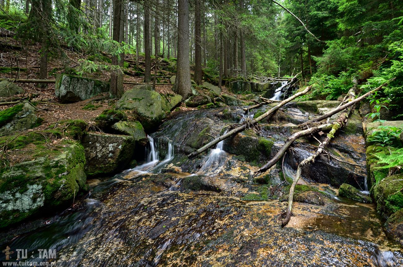 Wodospad Jodłówki