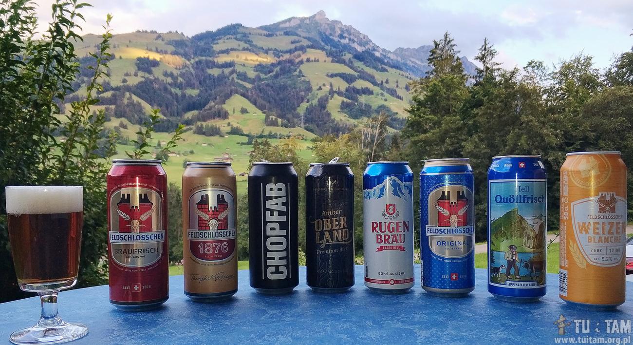 Szwajcarskie piwa