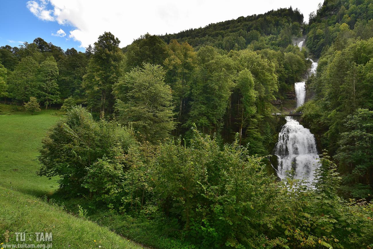 Wodospady Giessbach