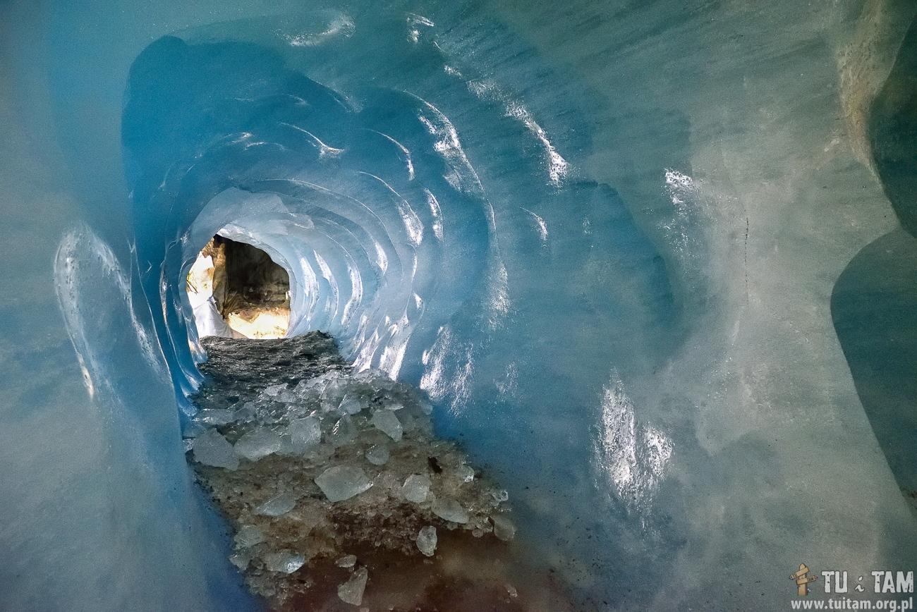 Furka Pass - lodowiec Rodanu