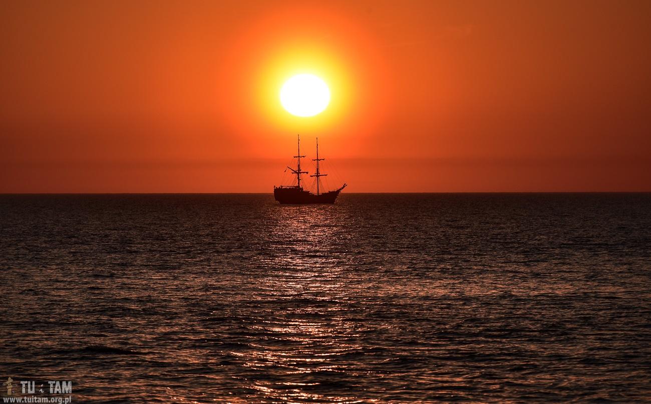 Darłówko rejs na zachód słońca